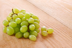 Fresh green grapes. Stock Images