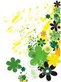 Fresh green illustration Stock Image