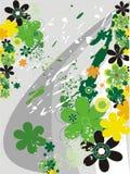Fresh green illustration Stock Images