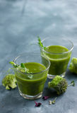 Fresh green juice Stock Images