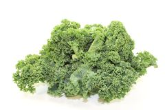 Fresh green Kale Royalty Free Stock Photography