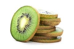 Fresh green kiwi Stock Photos