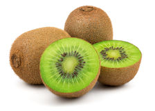 Fresh Green Kiwi Fruit Stock Photos