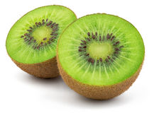 Fresh Green Kiwi Fruit Stock Photo