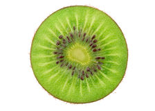 Fresh Green Kiwi Fruit Stock Photography