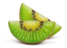 Fresh Green Kiwi Fruit Stock Images