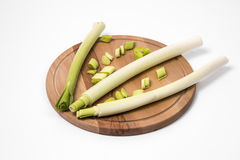 Fresh green leek Royalty Free Stock Image