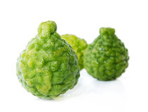 Fresh green lime. Kafir Royalty Free Stock Image