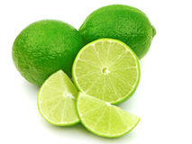 Free Fresh Green Limes Stock Photography - 12476372
