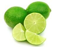 Fresh Green Limes Stock Photography