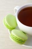 Fresh green macarons Royalty Free Stock Image