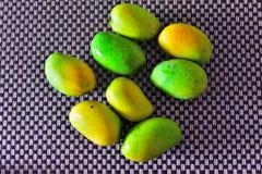 Fresh Green Mango stock photography