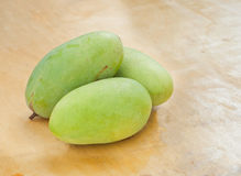 Fresh green mango Stock Image