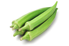 Fresh Green Okra Stock Images