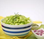 Fresh green paprika Stock Photography