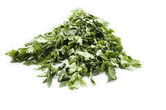 Fresh Green Parsley Royalty Free Stock Photo