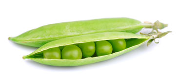 Fresh green pea Royalty Free Stock Photo