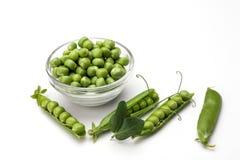 Fresh green pea Stock Photos