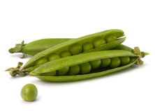 Fresh green pea pod Stock Image