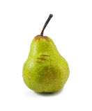Fresh green pear. Isolate on white background Stock Photo