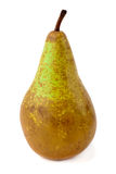 Fresh green pear over white Stock Photo