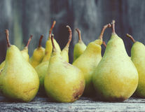 Fresh green pears Royalty Free Stock Images