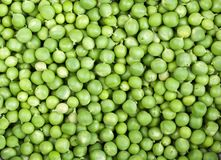 Fresh and green peas Royalty Free Stock Photos