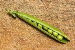 Fresh green peas. Royalty Free Stock Photo