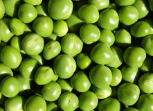 Fresh green peas background Stock Photography