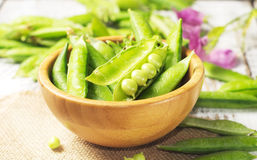 Fresh green peas Royalty Free Stock Image