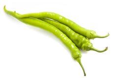 Fresh green pepper Royalty Free Stock Photo