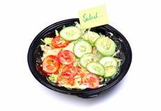 Fresh green salad Royalty Free Stock Image