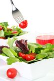 Fresh green salad Royalty Free Stock Image