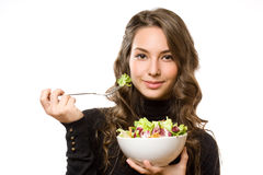 Fresh green salad. Royalty Free Stock Photography