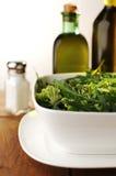 Fresh Green Salad with Arugula, Rocket Royalty Free Stock Images