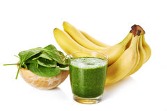 Fresh green smoothie Royalty Free Stock Image