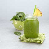 Fresh green smoothie Stock Photography