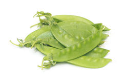 Fresh green Snow peas Royalty Free Stock Image