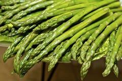 Fresh, Green Spears Stock Photos