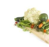 Fresh green spring vegetables Stock Photos