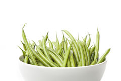 A fresh green string bean Royalty Free Stock Photo