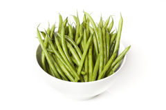 A fresh green string bean Royalty Free Stock Images