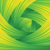 Fresh Green Swirl Background Stock Photo