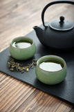 Fresh green tea Royalty Free Stock Images