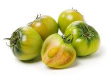 Fresh green tomato royalty free stock image