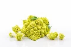 Fresh of green vegetable,Romanesco broccoli, Roman cauliflower. Royalty Free Stock Images