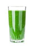 Fresh green vegetable smoothie Stock Image