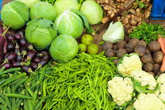 Fresh green vegetables Stock Photography