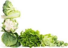 Fresh green vegetables Stock Image
