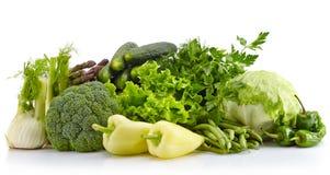 Fresh green vegetables Royalty Free Stock Photos